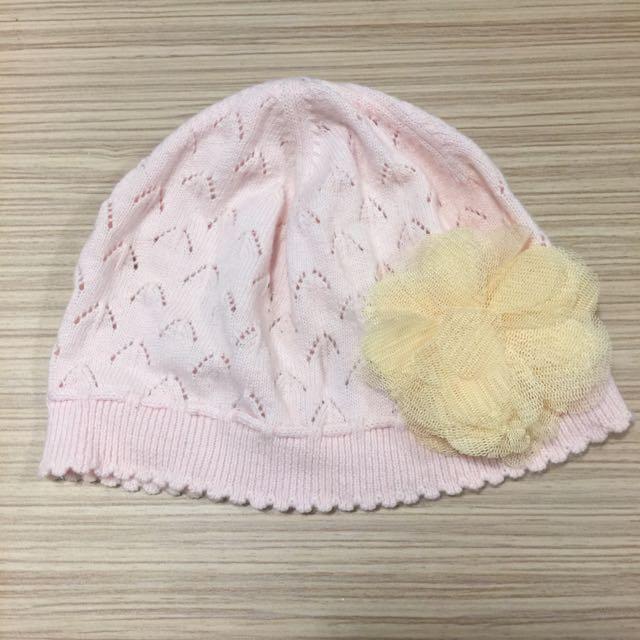 二手 麗嬰房 嬰兒針織帽