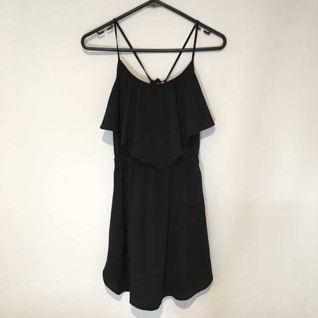 American Eagle Outfitters Black Dress
