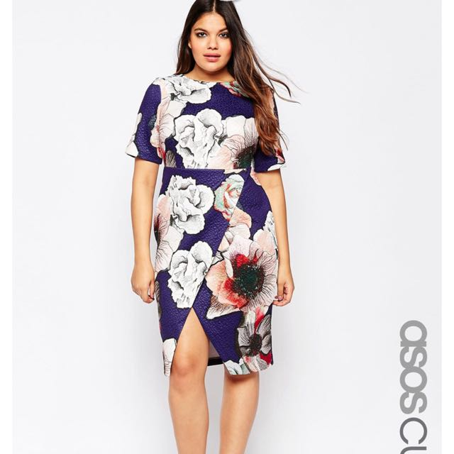 ASOS Curve Plus Size Dress. Size UK 18, Women\'s Fashion on ...