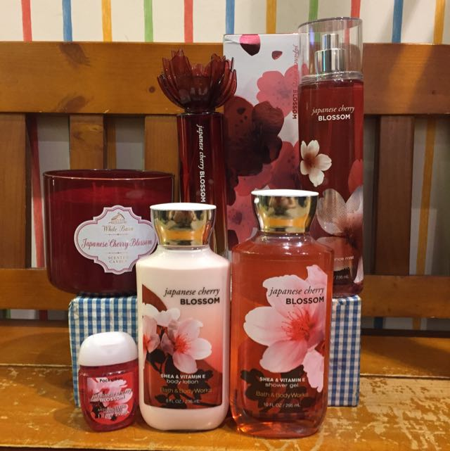 Bath&Body Works日本櫻花Japanese Cherry Blossom