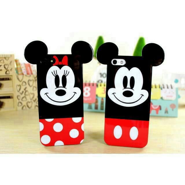 watch 56ac7 a8deb Brand New Disney Mickey & Minnie Mouse Mobile Phone Cover (Hand Cell  Handphone PH Case Casing TPU Cute) - Available for Apple IPhone 4/4S, 5/5S,  6/6S ...