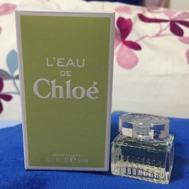 愛在Chloe 花漾女性淡香水(全新、保證正品)