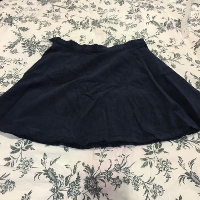 Corduroy Skater Skirt