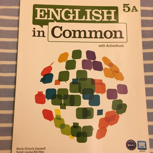 ENGLISH in Common📚