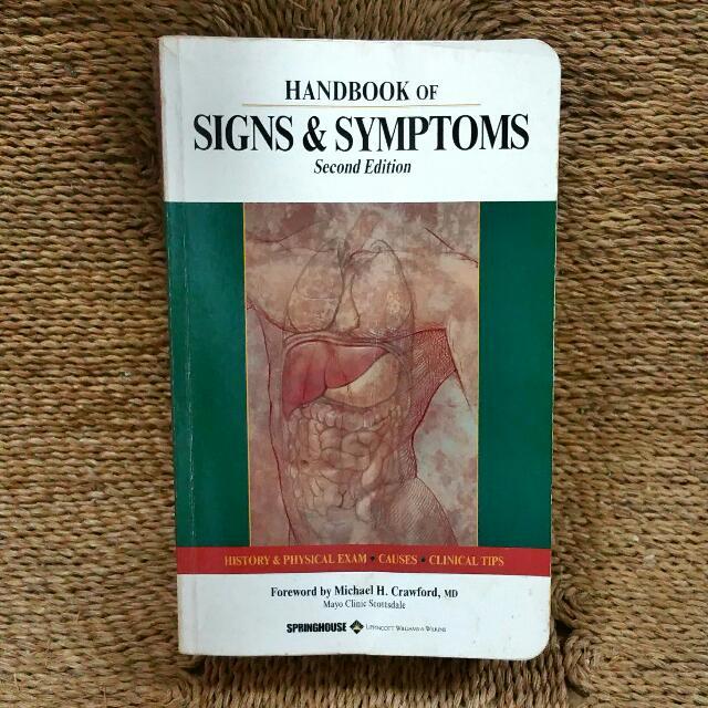 Handbook Of Signs And Symptoms