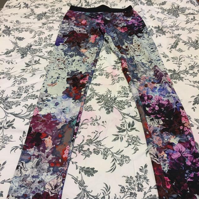 H&M Floral Printed Leggings