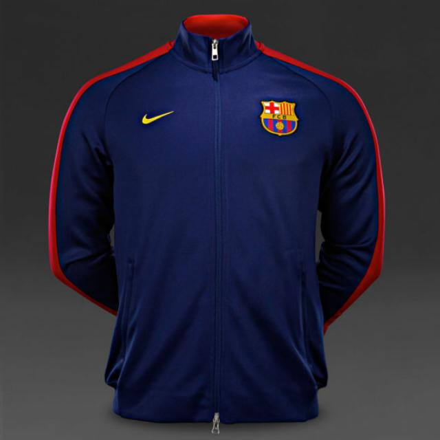 8800bceefe3 Nike N98 Authentic FC Barcelona Track Jacket