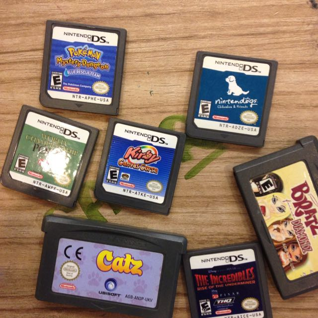 Old DS and Gameboy Cartridges, Toys & Games on Carousell