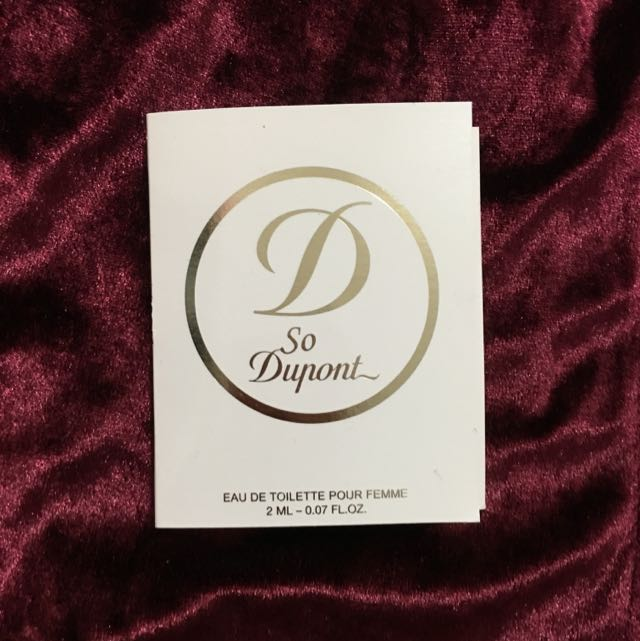 S.T Dupont 巴黎迷情女性淡香水