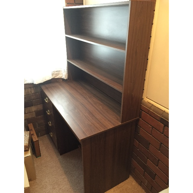 Study Table with Shelf