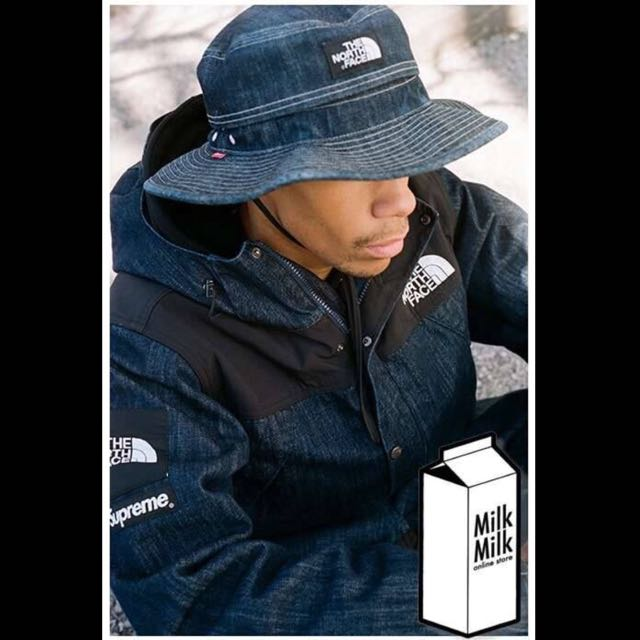 Supreme X The North Face Denim Bucket Hat a271a9dd9c6