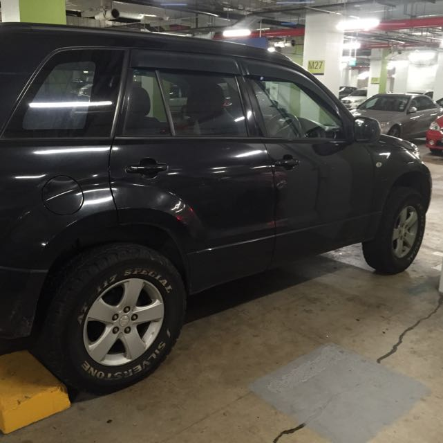 Suzuki Grand Vitara Ironman Suspension and Silverstone AT