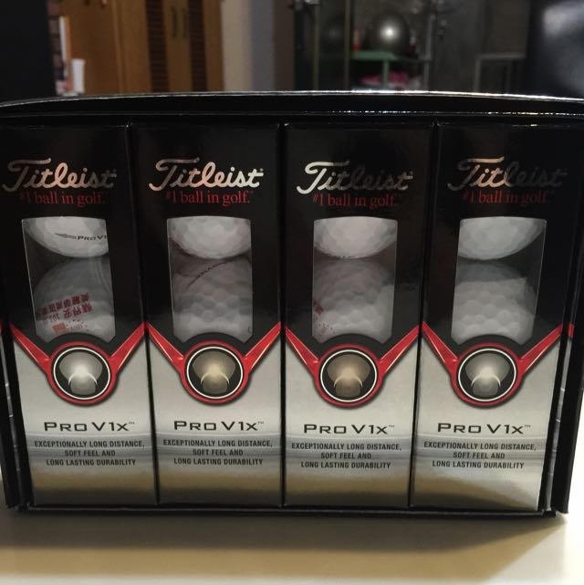 Titleist PRO V1x 高爾夫球 (全新)