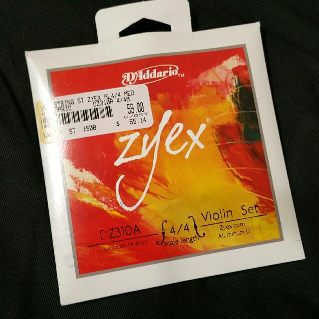 Violin Strings - D'Addario ZYEX