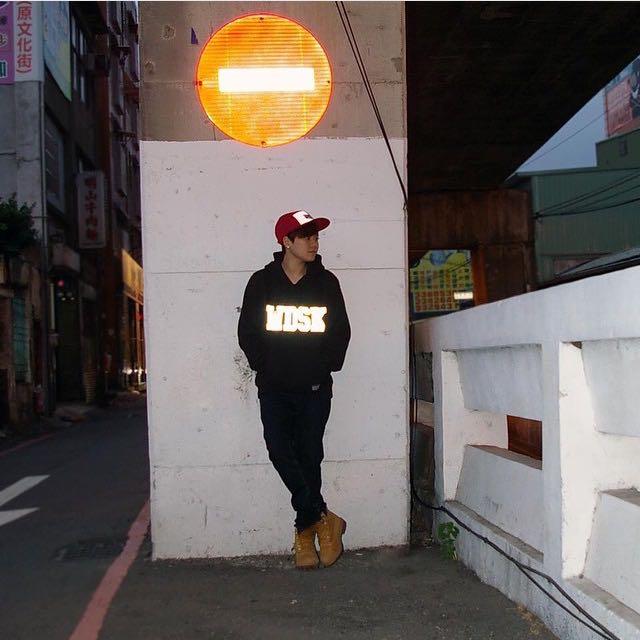 正品woodstuck反光帽T(二手)