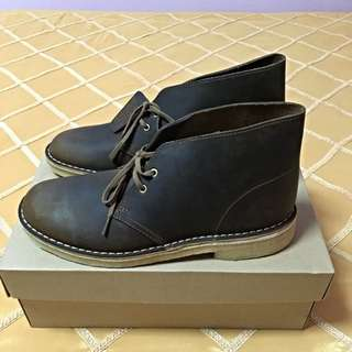 Men's Shoes Clarks Originals Desert Boot 06562 Lace Up Beeswax Leather *New*.