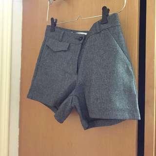 [免運]全新韓版西裝款短褲
