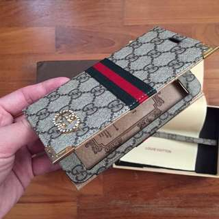 Inspired GUCCI Iphone 6s Plus Wallet - Brand New!