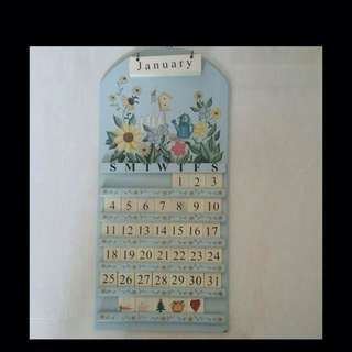 Preloved Wall Calendar