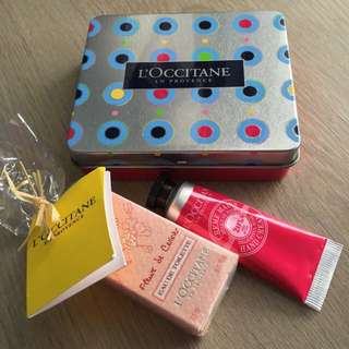LOccitane Mini Sweet Pampering Kit (reserved)
