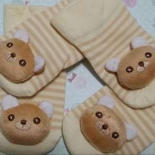 🚚 立體娃娃童襪