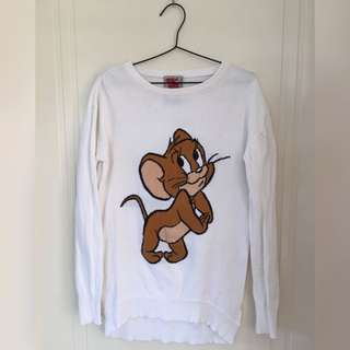 BERSHKA Tom And Jerry Jumper