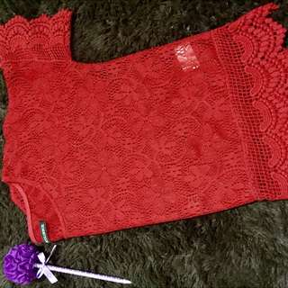 Colorbox Red Lace