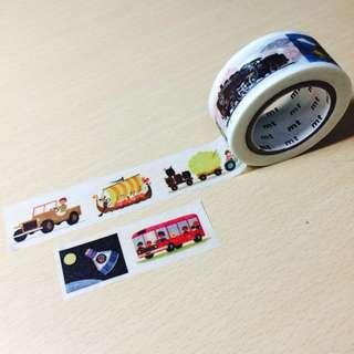 日本Mt紙膠帶-交通工具🚢