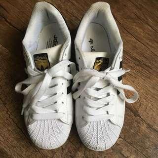 (待匯款)Adidas Superstar 金標 急售~