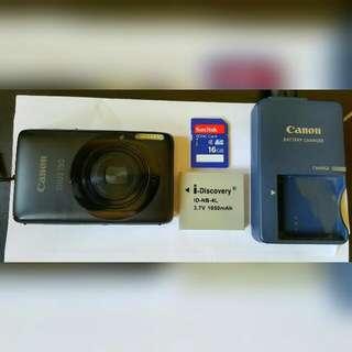Canon IXUS 130 (Black)