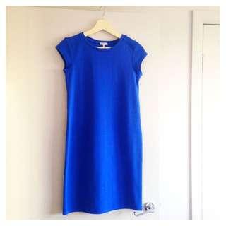 River Island Cobalt Blue Shift Dress