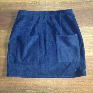Size S Minkpink Navy Skirt