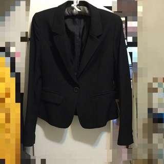 Theme修身顯瘦西裝外套 上班族套裝OL