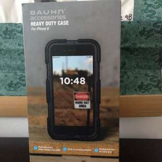 Brand New Bauhn Heavy Duty Case Black iPhone 6