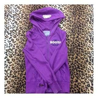 Roots美國品牌 紫色外套