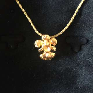 Risis 24K Plated Vanda Miss Joaquim Orchid Chain