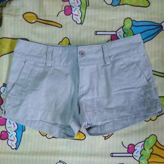 Dotz Low Rise Grey Shorts