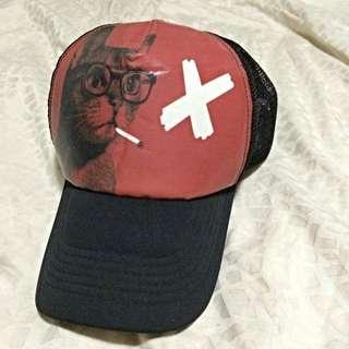 復古特色網帽