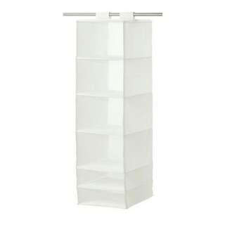 Ikea掛袋+分格儲物櫃