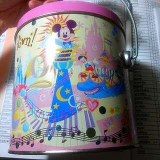 Disney 迪士尼 餅乾鐵桶