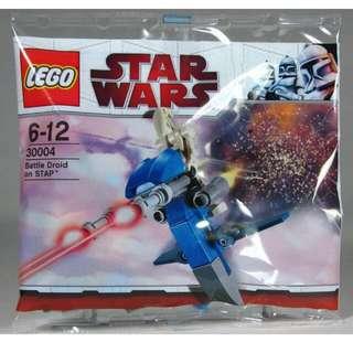 QQBricks LEGO 30004 Battle Droid on STAP Polybag (Buy 5 Get 1 Free)