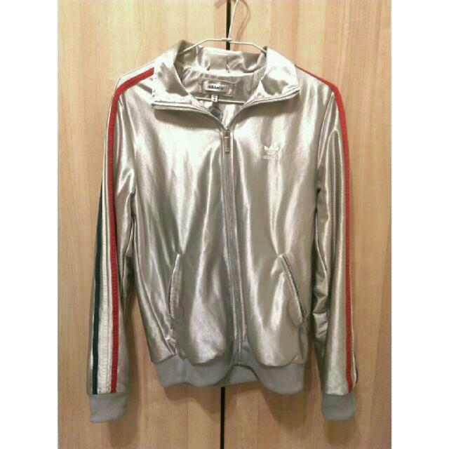 2008奧運限量銀色愛迪達外套