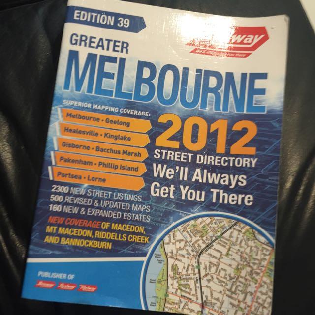 [30% Off]2012 Melbourne Melways