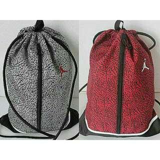 Jordan束口袋(紅)