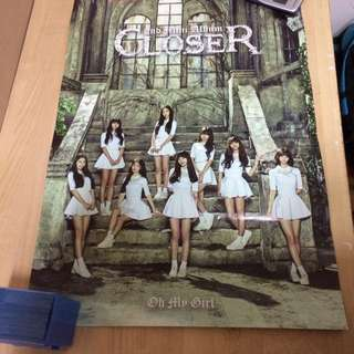 Oh My Girl Closer Poster