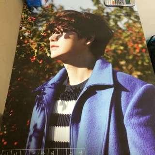 Super Junior Kyuhyun Again, Autumn Comes 2nd Mini Solo Album Poster Ver 2