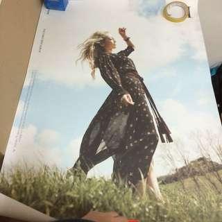 Snsd Taeyeon 1st Mini Solo Album I Poster Ver 1