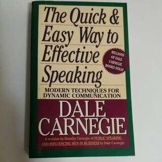 The Quick And Easy Way To Effective Speaking By Dale Carnegie