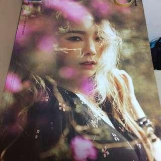 Snsd Taeyeon 1st Mini Solo Album I Poster Ver 2