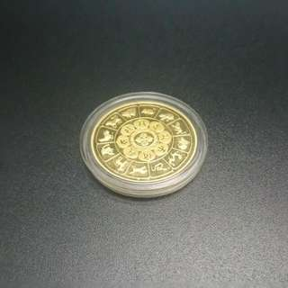 24k Gold-plated Coin